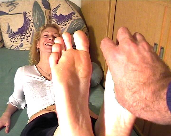 Valerie - feet-tickled (5x soles and face) .